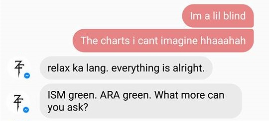 ism and ara green